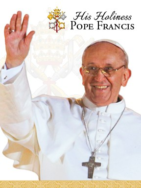 Pope Francis Prayer Card, front
