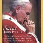 Saint John Paul II Prayer Card, front for web