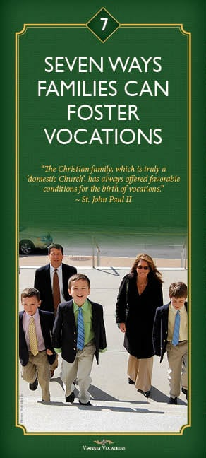 Fostering Vocations in the Family, cover for web
